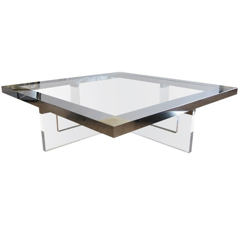 large square glass coffee table ideas