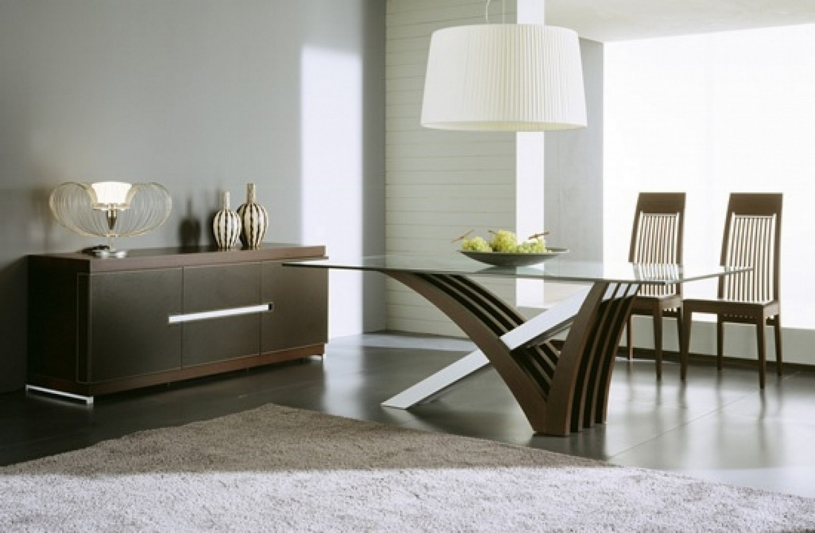 glass top dining tables with wood base