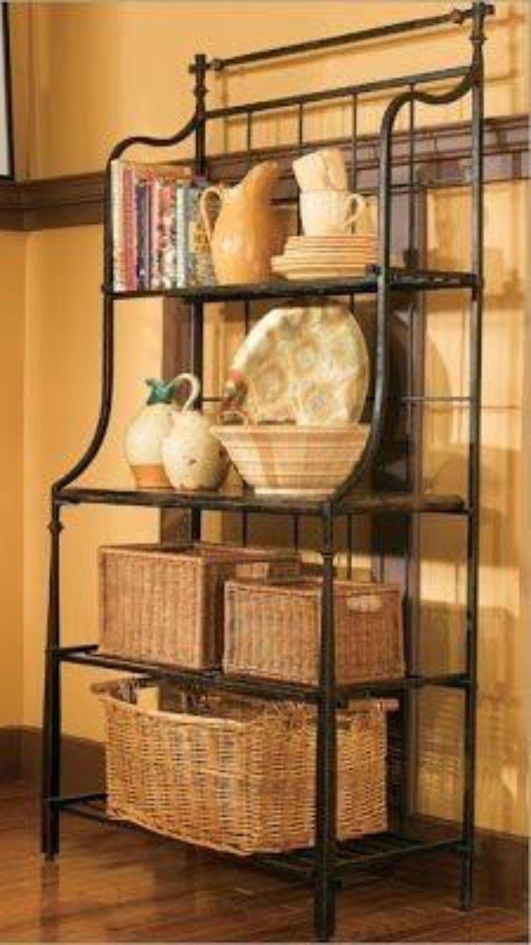 narrow bakers rack ideas on foter