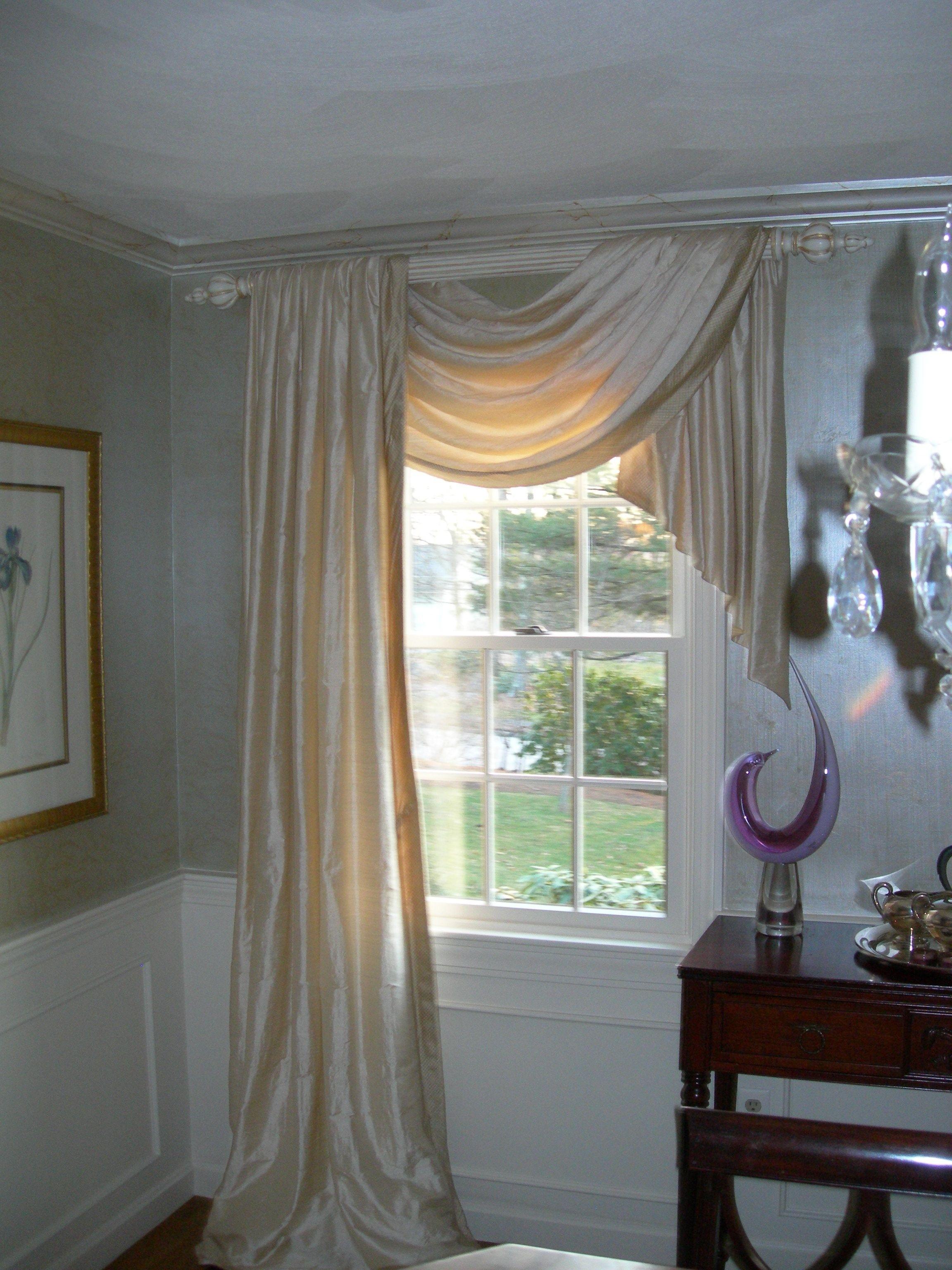 Amazing Decorating Mesmerizing Curtains Over Horizontal Blinds 6