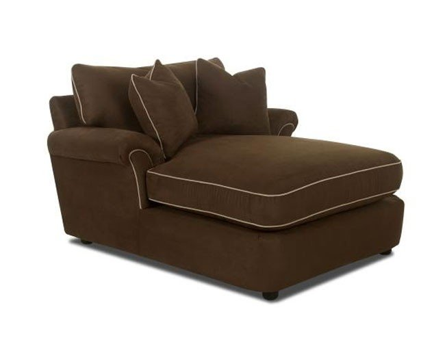 chocolate brown chaise lounge ideas