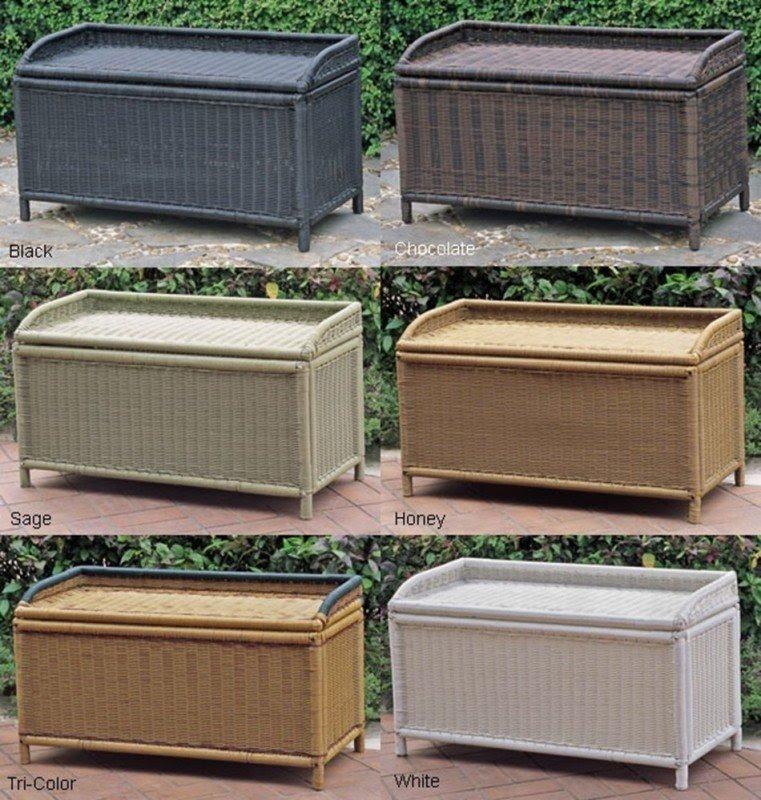 patio furniture cushion storage boxes