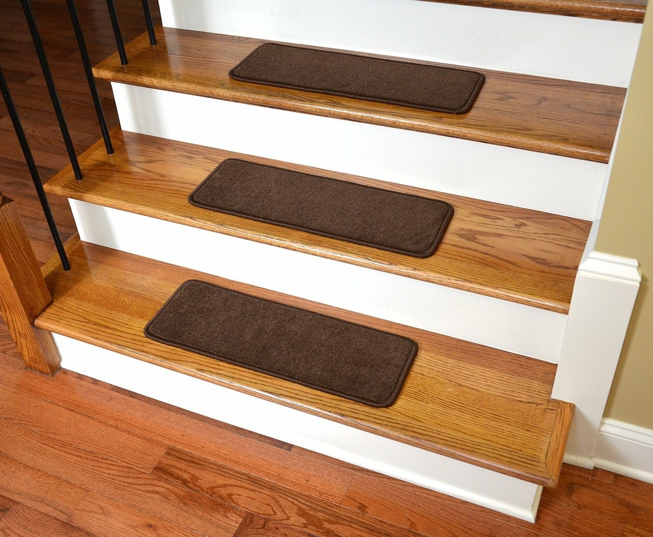 Stair Treads Carpet Non Slip Ideas On Foter   Grey Carpet Treads For Stairs   Bullnose Carpet   Flooring   Magma Grey   Skid Resistant   Carpet Runner