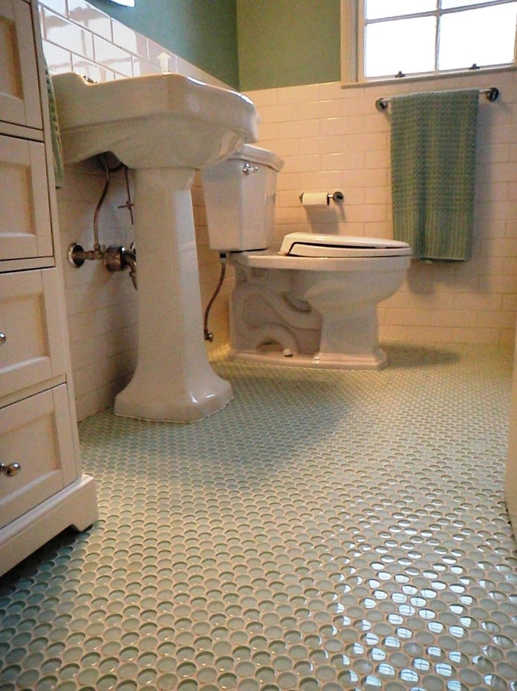 glass penny round tile ideas on foter