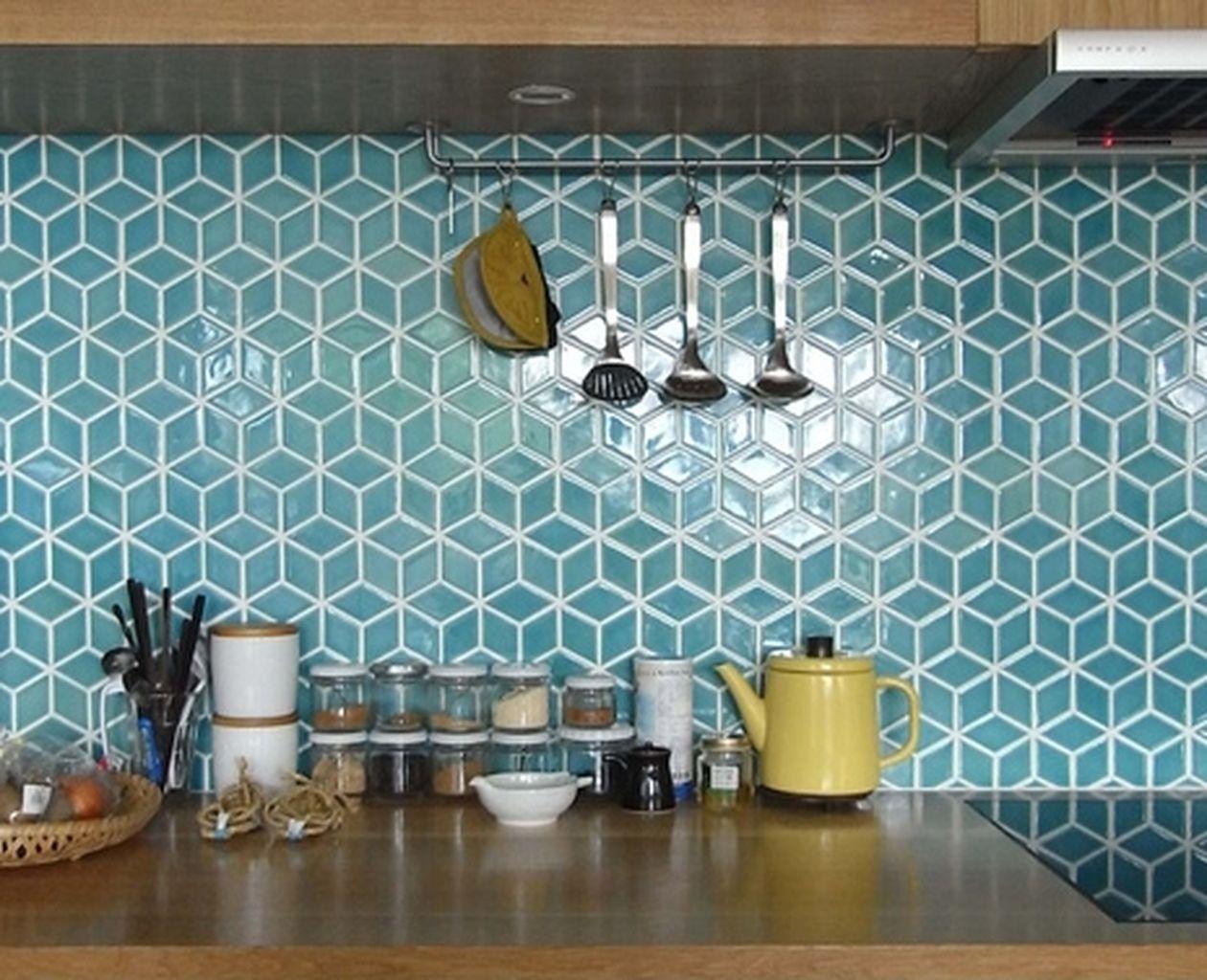 hexagon tile backsplash ideas on foter
