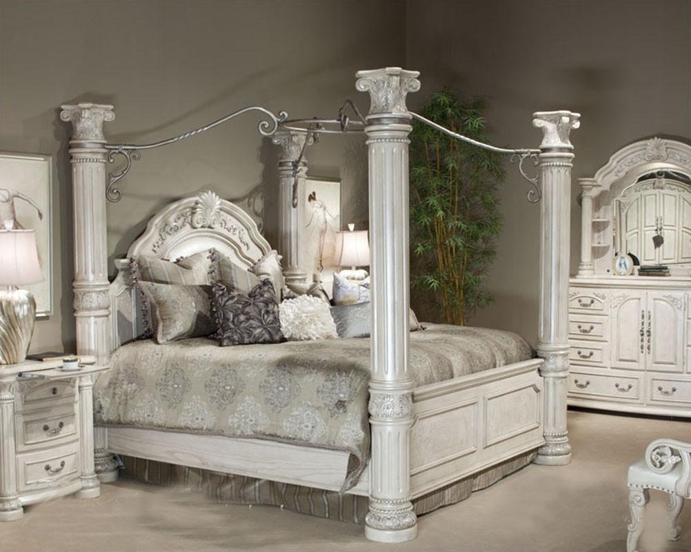 four post king size bedroom sets