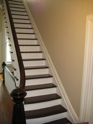 Carpet Treads For Wood Stairs Ideas On Foter | Carpet Squares For Stairs | Diy | Right Price Carpet | Hallway | Interior Modern | Stair Carpet Installation