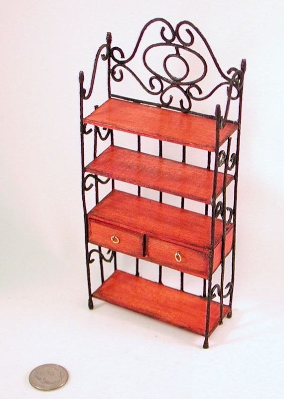 wrought iron bakers rack ideas on foter