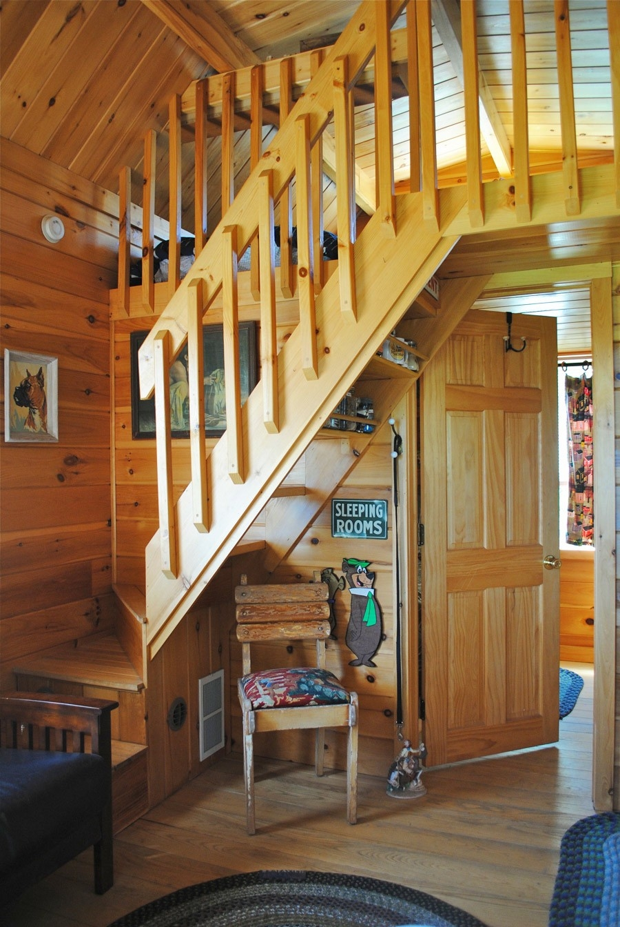 Loft With Stairs For 2020 Ideas On Foter   Tiny Home Spiral Staircase   Multi Purpose   Stair   Creative   Bedroom   Rooftop Deck