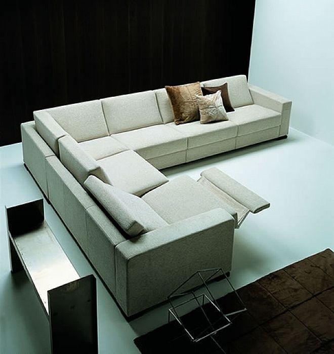 modern reclining sectional ideas on foter