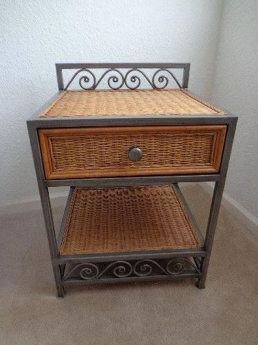 wicker nightstands ideas on foter