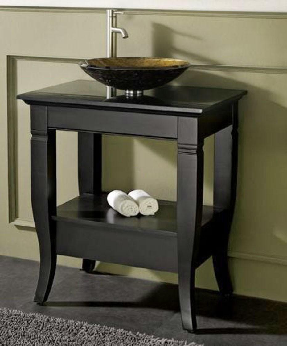 vanity base for vessel sink ideas on