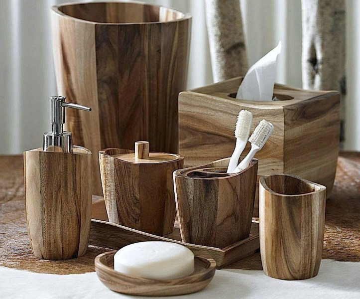 Wood Bath Accessories   Foter Wood bath accessories 7