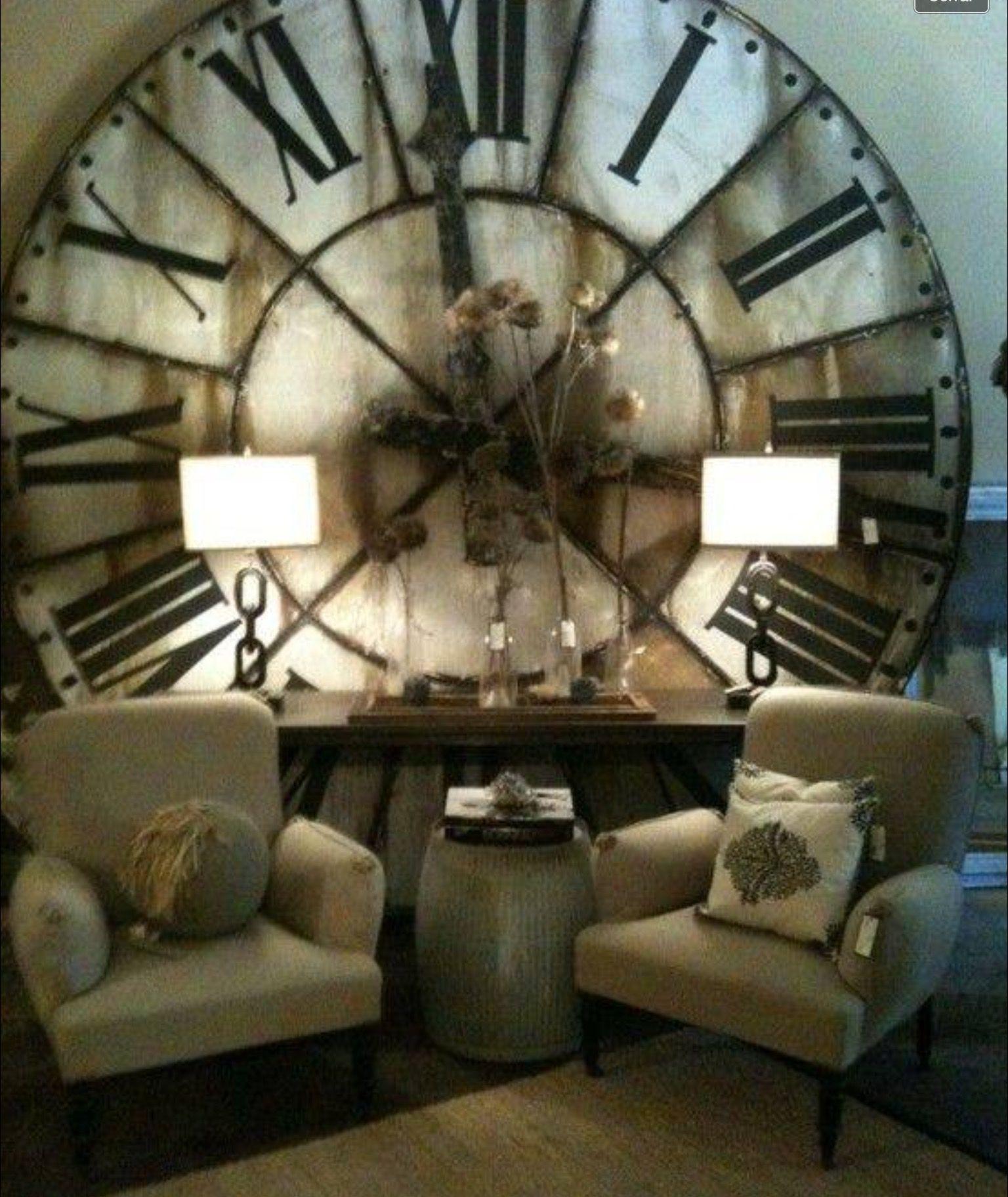 Oversized Decorative Wall Clocks Ideas On Foter