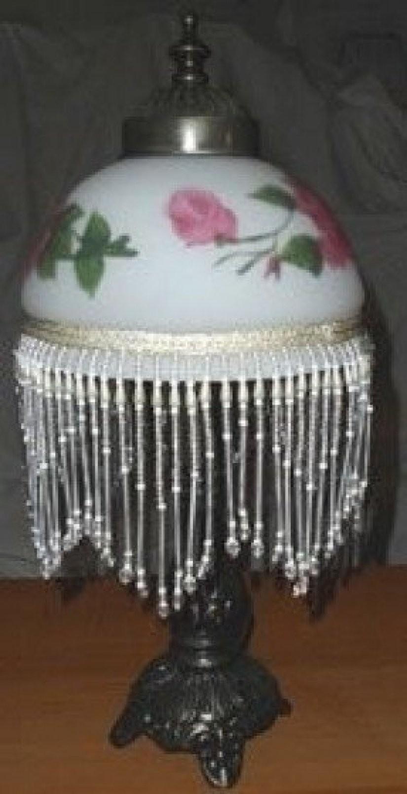 Victorian Beaded Lamp Shades Foter