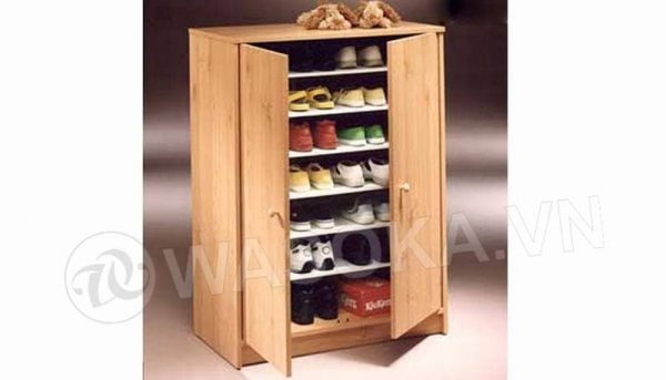 Cherry Wood Shoe Rack Foter