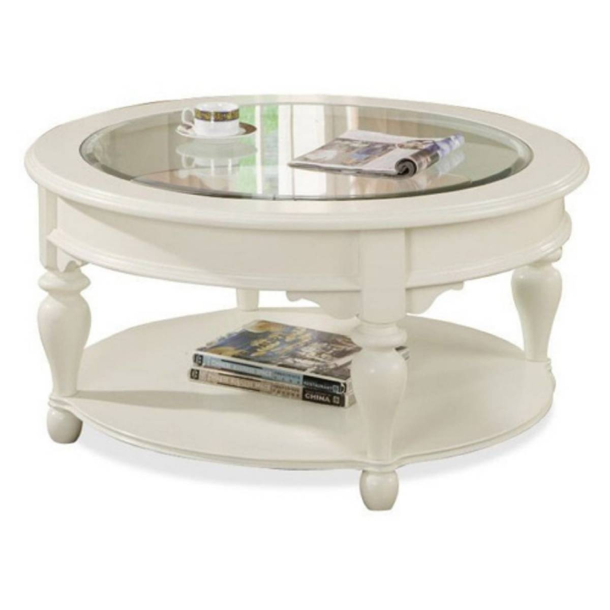 round coffee tables with glass top