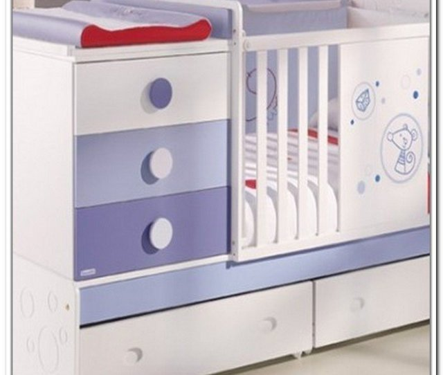 Crib With Storage Drawer Download This Picture For Free In