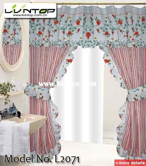 Double Swag Shower Curtain Foter
