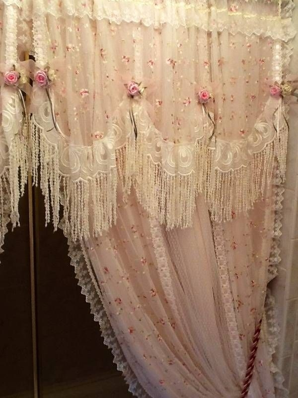 Cottage Victorian Shower Curtain Ideas On Foter