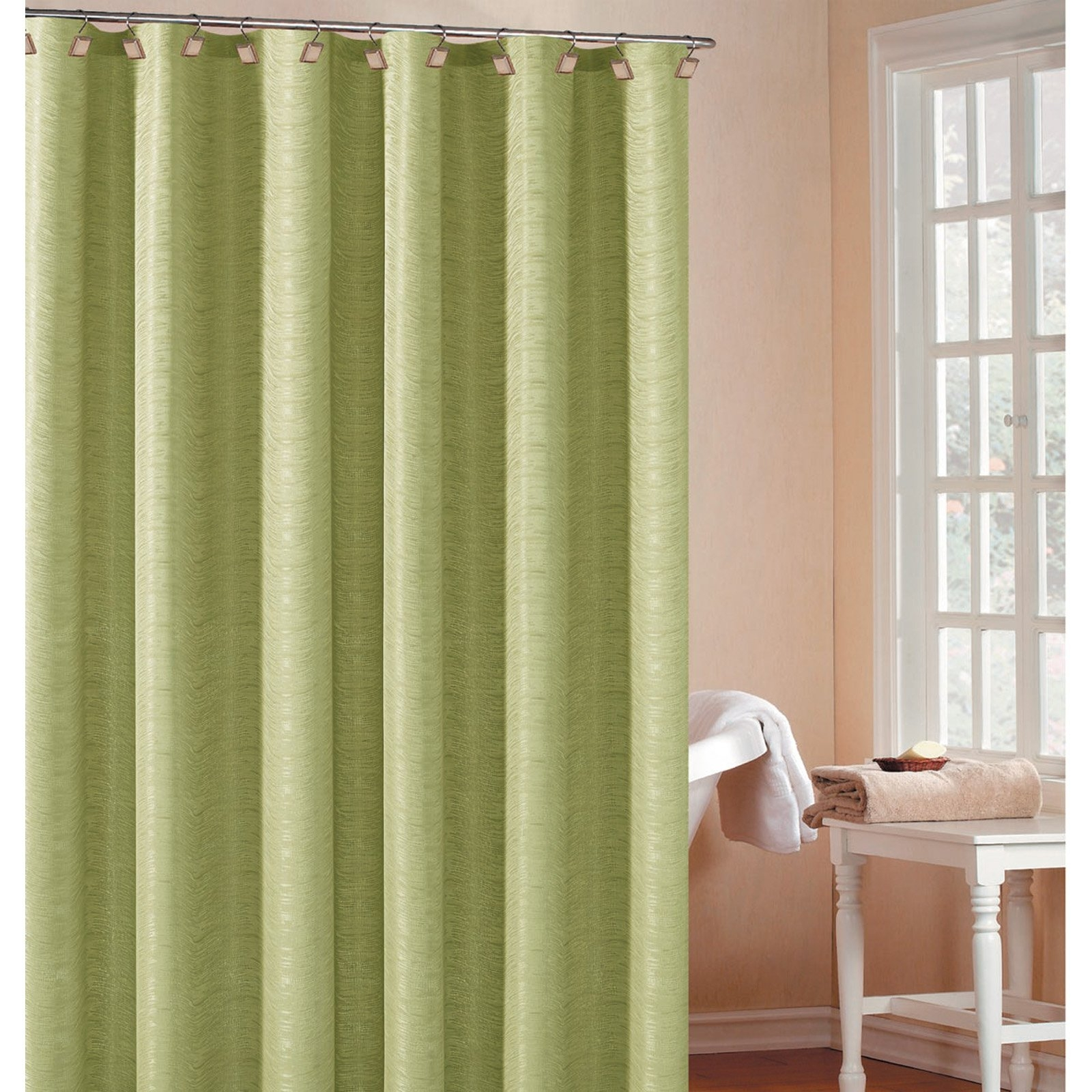 country fabric shower curtains ideas