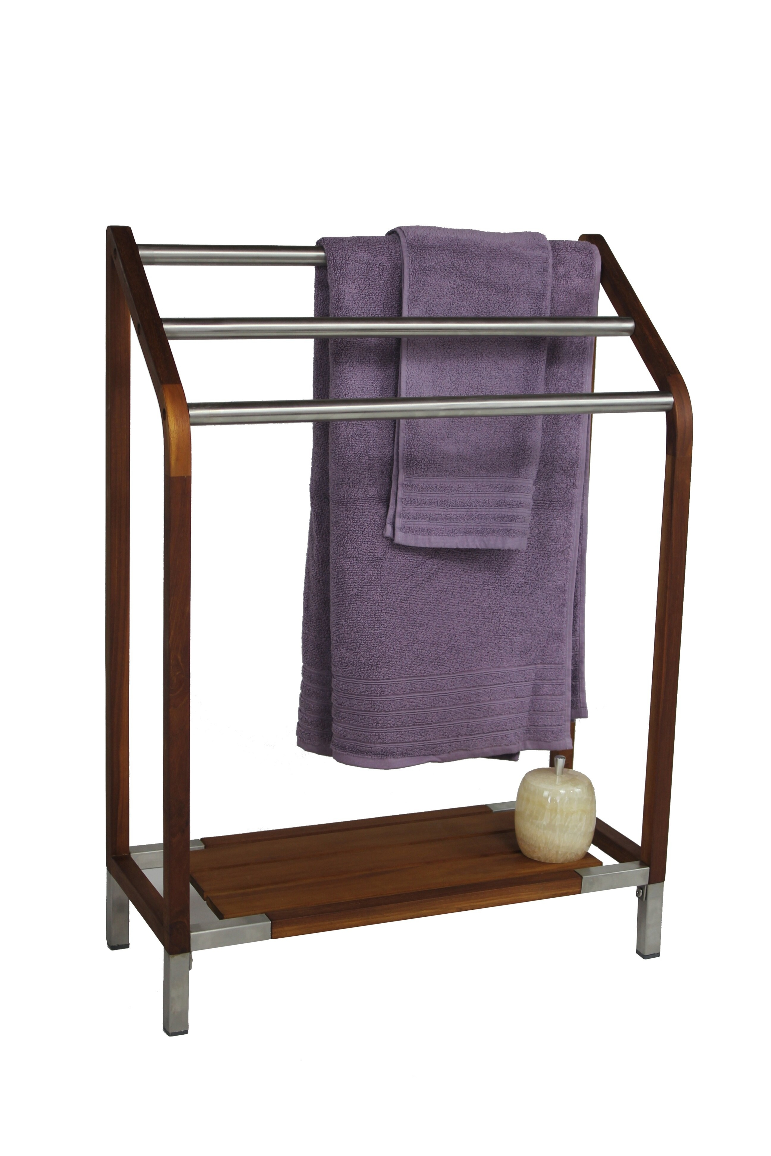 teak towel stand ideas on foter