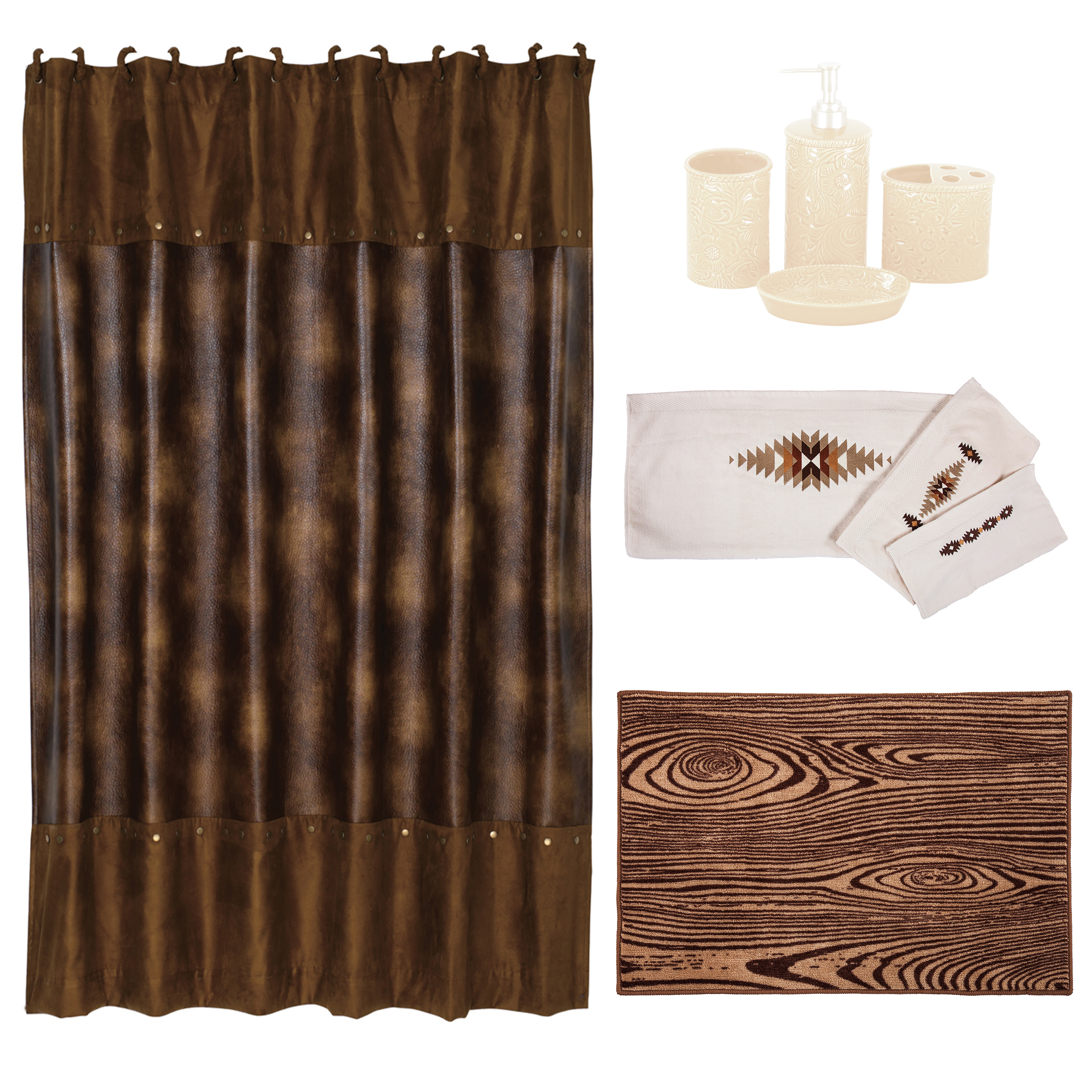 https foter com faux leather shower curtain