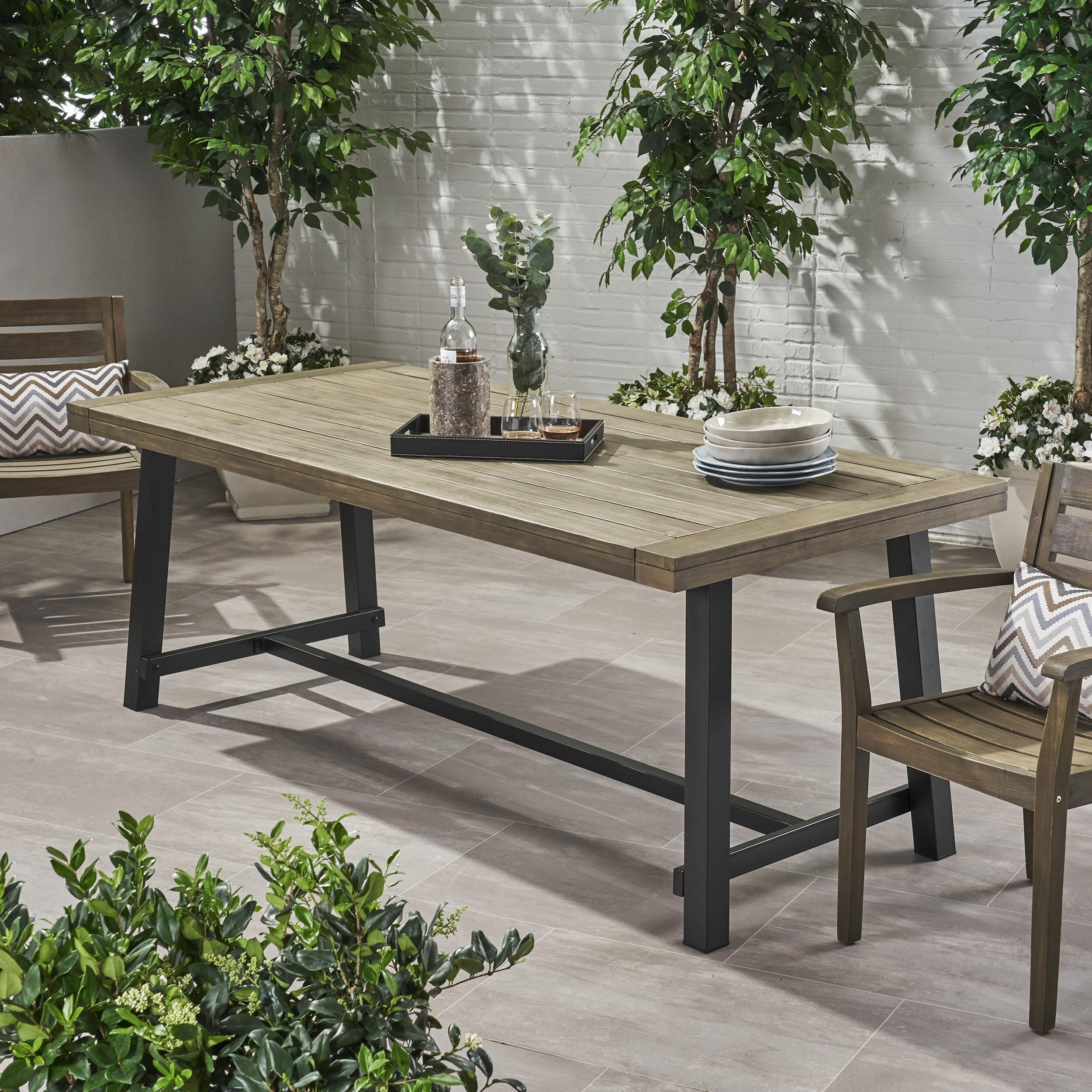 how to choose a patio dining table foter