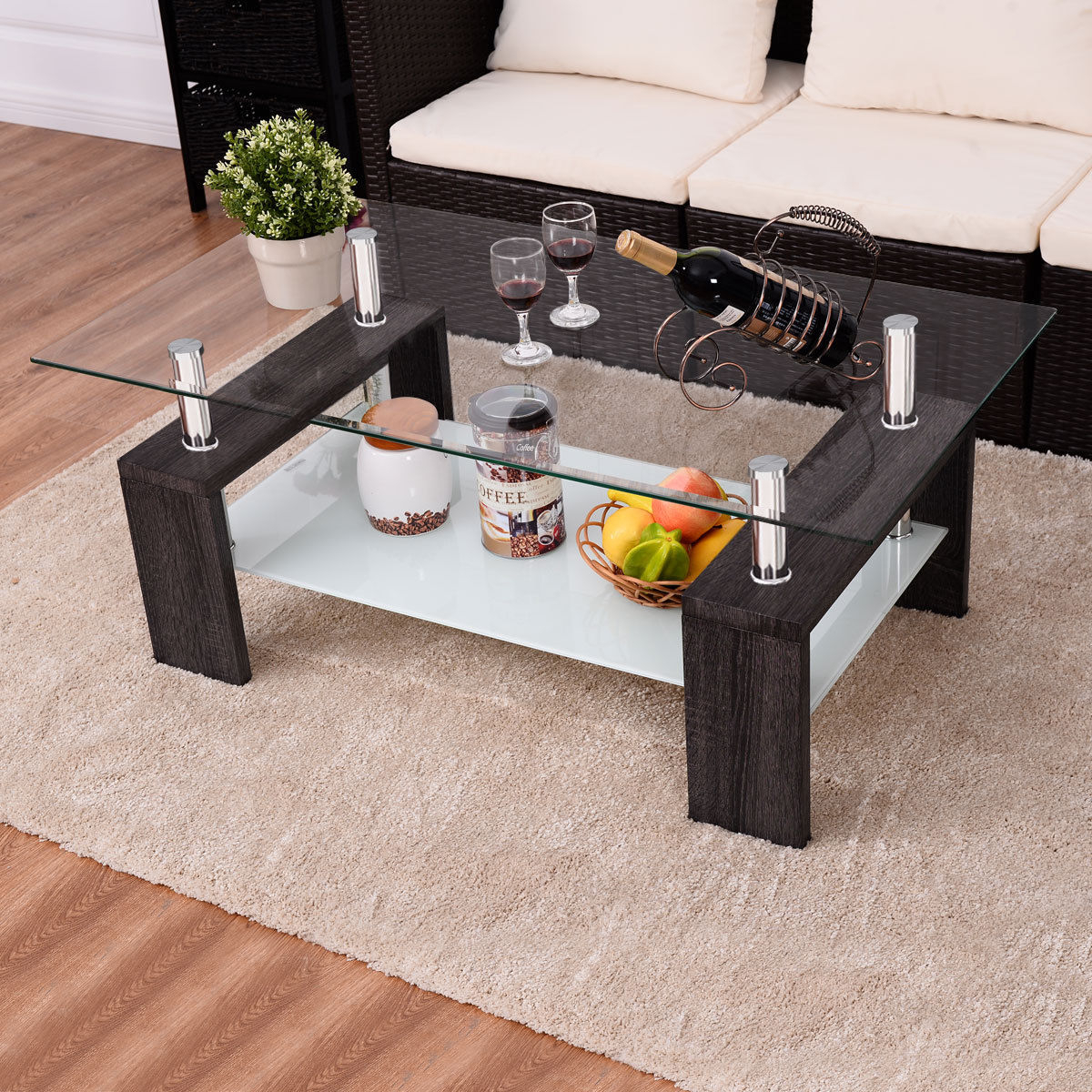 black and white coffee table ideas on