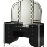 Black Vanity Desk With Mirror Ideas On Foter