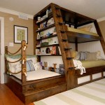 Bunk Bed With Ladder Ideas On Foter