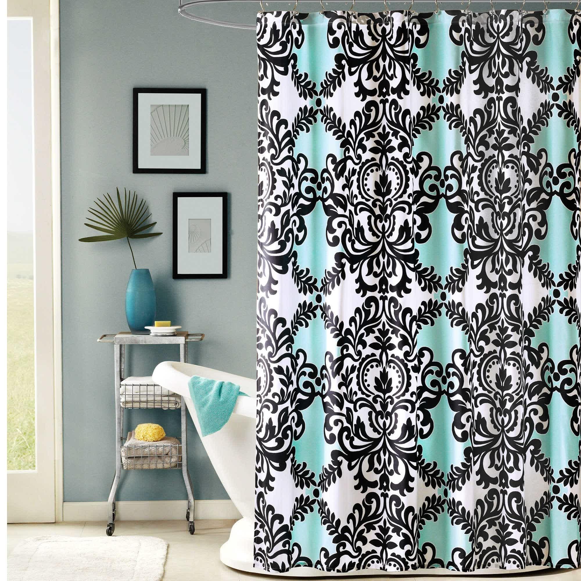 damask shower curtain ideas on foter