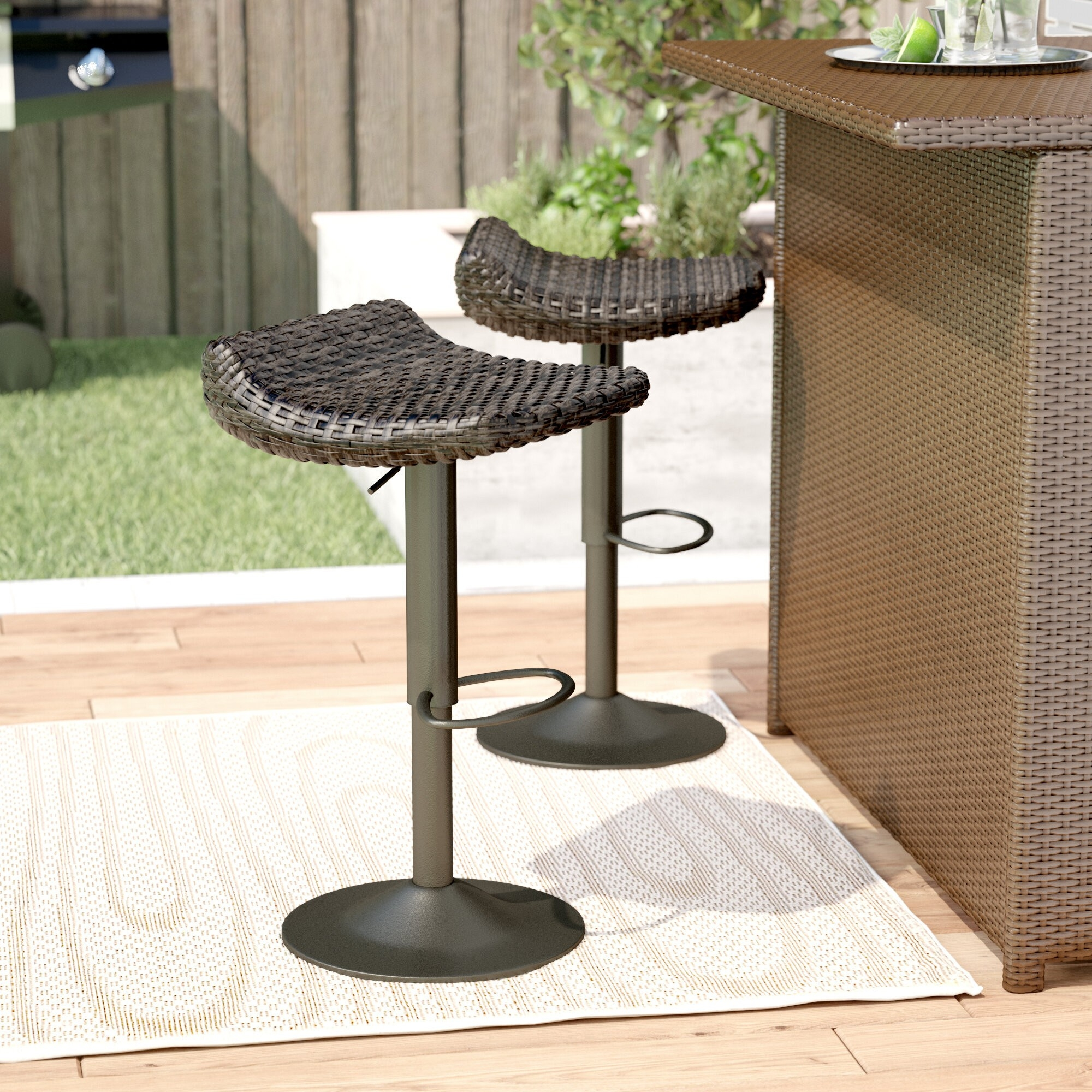 how to choose patio bar stools foter
