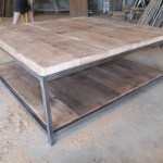 Large Square Wood Coffee Table Ideas On Foter