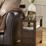 Narrow End Table With Drawers Ideas On Foter