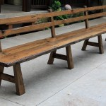 Wood Dining Bench With Back Ideas On Foter