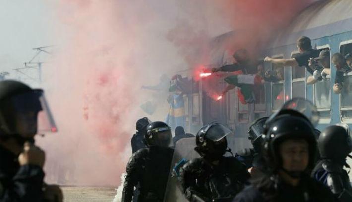 A magyar szurkolók már Bukarestben vannak