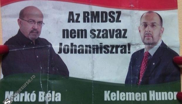 Az RMDSZ nevében kampányolnak Ponta mellett
