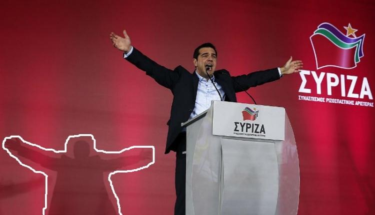 A Megváltó görög. És szélsőbalos.