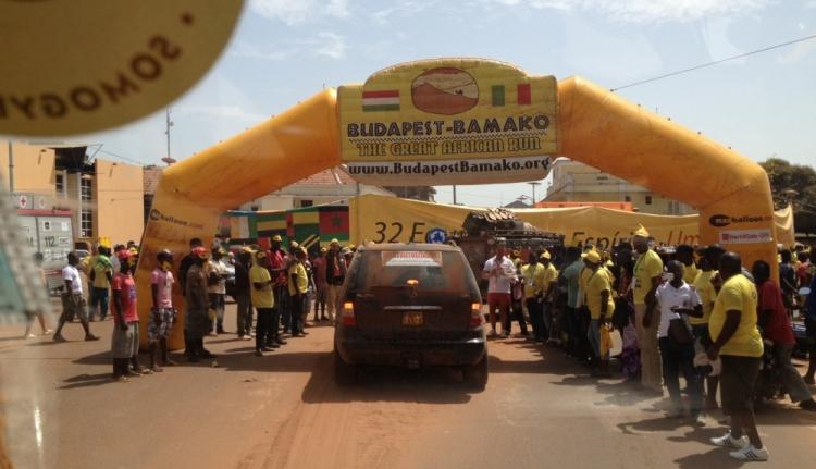 Célba értek a székelyek a Budapest-Bamako ralin