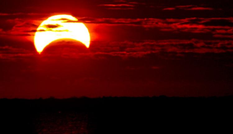 A szatmáriak látnak legtöbbet a napfogyatkozásból