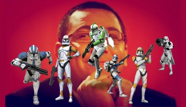 Paloták háborúja: a Ponta klónok támadása