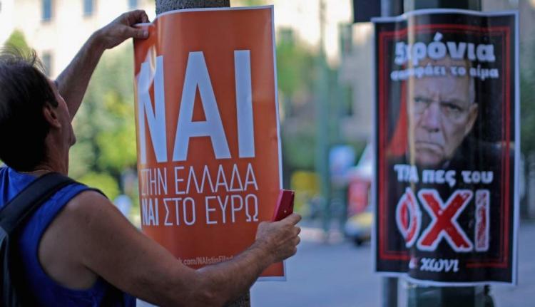 Sorsdöntő népszavazás zajlik Görögországban