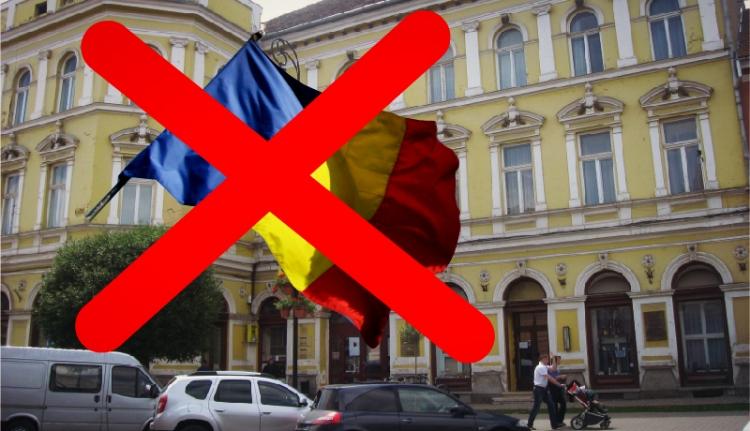 Mi a bajuk a székelyeknek a román zászlóval?