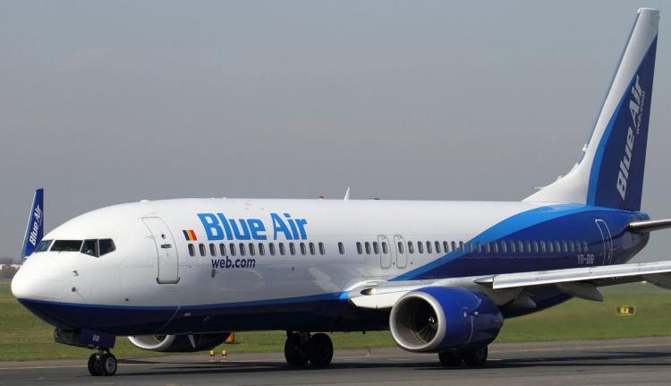 Kisodródott egy gép a kolozsvári repülőtéren