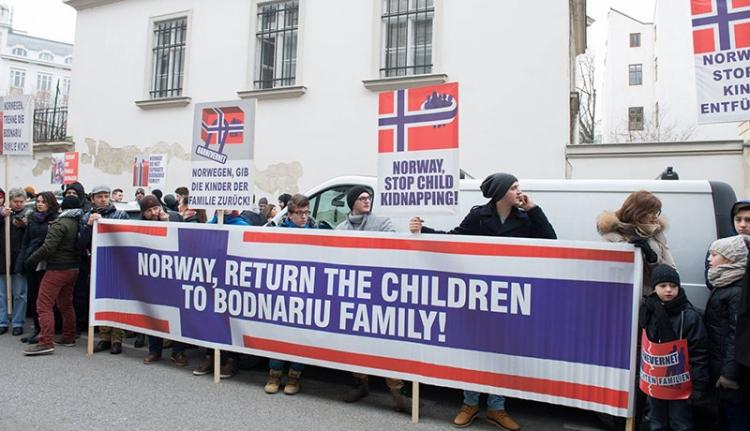 Az EP elé kerül a norvégiai román család ügye
