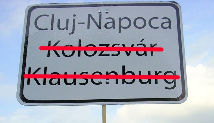 A bíróság döntött: nem lesznek kétnyelvű táblák Kolozsváron