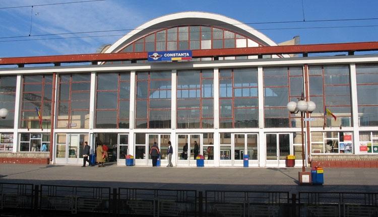 Kiürítették a konstancai vasútállomást