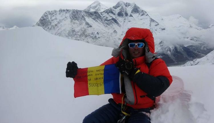 Újabb hegyre vitte fel Török Zsolt a román zászlót