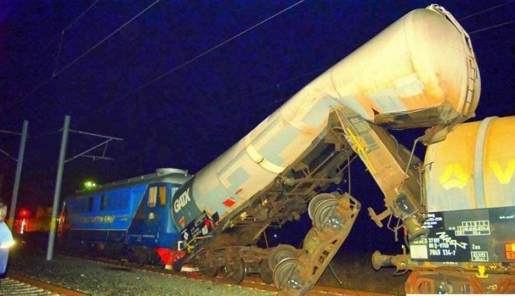 Ittasan okozták a ma hajnali vonatbalesetet